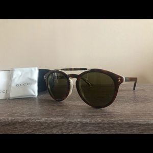 BRAND NEW GUCCI 0124/SA 003 SUNGLASSES!!!